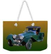 1937 Jaguar S S Onehundred  Weekender Tote Bag