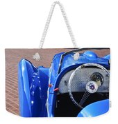 1937 Peugeot 402 Darl'mat Legere Speacial Sport Roadster Recreation Steering Wheel Emblem Weekender Tote Bag
