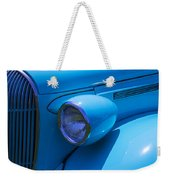 1938 Blue Plymouth Coupe Weekender Tote Bag
