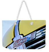 1938 Chevrolet Coupe Hood Ornament -0216c Weekender Tote Bag