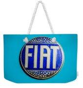 1938 Fiat 508c Berlinetta Speciale Emblem Weekender Tote Bag