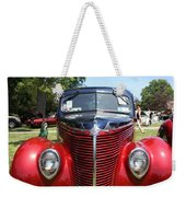 1938 Ford Two Door Sedan Front View Weekender Tote Bag