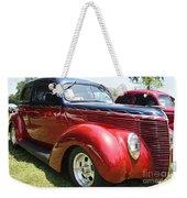 1938 Ford Two Door Sedan Weekender Tote Bag