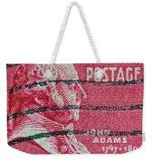 1938 John Adams Stamp Weekender Tote Bag