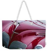 1938 Lincoln-zephyr Convertible Coupe Grille - Hood Ornament - Emblem Weekender Tote Bag