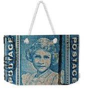 1938 Queen Elizabeth II Newfoundland Stamp Weekender Tote Bag