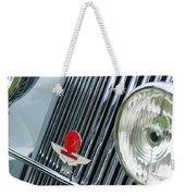 1939 Aston Martin 15-98 Abbey Coachworks Swb Sports Grille Emblems Weekender Tote Bag