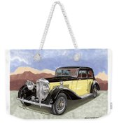 1939 Bentley Mark Four Sport Sedan Weekender Tote Bag