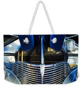 1939 Chevrolet Coupe Grille -115c Weekender Tote Bag