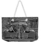 1939 Chevy Immenent Front Bw Art Weekender Tote Bag