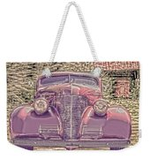 1939 Chevy Immenent Front Color Weekender Tote Bag