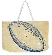 1939 Football Patent Artwork - Vintage Weekender Tote Bag