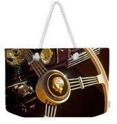 1939 Ford Standard Woody Steering Wheel Weekender Tote Bag