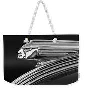 1939 Pontiac Silver Streak Hood Ornament 3 Weekender Tote Bag by Jill Reger
