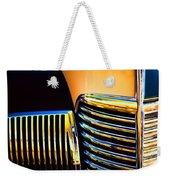 1939 Studebaker Champion Grille Weekender Tote Bag by Carol Leigh