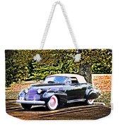 1940 Cadillac Coupe Convertible Weekender Tote Bag