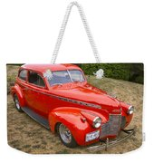 1940 Chevrolet 2 Door Sedan Weekender Tote Bag