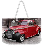 1940 Chevy Coupe Weekender Tote Bag