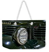 1940 Dodge Pickup Headlight Grill Weekender Tote Bag