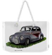 1940 Ford Custom Street Rod Weekender Tote Bag