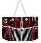 1940 Ford V8 Grill  Weekender Tote Bag