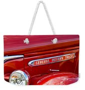 1940 Gmc Side Emblem Weekender Tote Bag