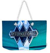 1940 International Emblem Weekender Tote Bag