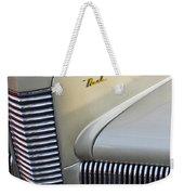 1940 Nash Grille Weekender Tote Bag by Jill Reger