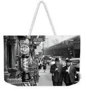 1940s Manhattan Lower East Side Weekender Tote Bag by Vintage Images
