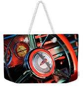 1941 Buick Eight Special Steering Wheel Emblem Weekender Tote Bag