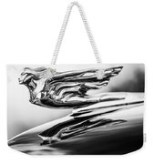 1941 Cadillac Hood Ornament 4 Weekender Tote Bag