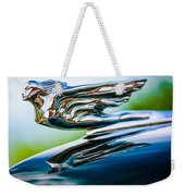 1941 Cadillac Hood Ornament 5 Weekender Tote Bag