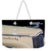 1941 Packard Hood Ornament Weekender Tote Bag