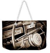1941 Packard Steering Wheel Emblem Weekender Tote Bag