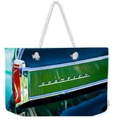 1941 Sudebaker Champion Coupe Emblem Weekender Tote Bag by Jill Reger