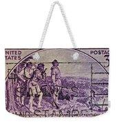 1942 Kentucky Statehood Stamp Weekender Tote Bag