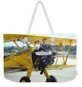 1943 Boeing Super Stearman 2 Weekender Tote Bag