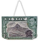 1946 Ceylon - Sri Lanka - Stamp Weekender Tote Bag