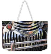 1946 Chevrolet Truck Chrome Grill Weekender Tote Bag