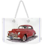 Ford Special Deluxe Coup E  From 1946  Weekender Tote Bag
