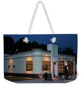 1947 Amoco Gas Station Weekender Tote Bag