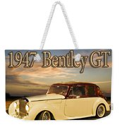 1947 Bentley Weekender Tote Bag