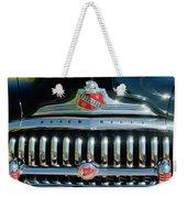 1947 Buick Sedanette Grille Weekender Tote Bag