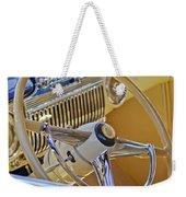 1947 Cadillac 62 Steering Wheel Weekender Tote Bag