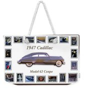 1947 Cadillac Model 62 Coupe Art Weekender Tote Bag