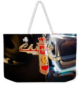 1947 Chrysler New Yorker Town And Country Convertible Emblem Weekender Tote Bag