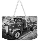 1947 Ford Coca Cola C.o.e. Delivery Truck Bw Weekender Tote Bag