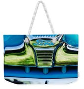 1947 Ford Deluxe Grille Ornament -0700c Weekender Tote Bag