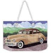 1947 Nash Statesman Weekender Tote Bag by Jack Pumphrey