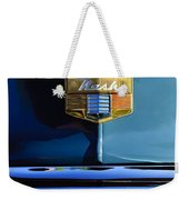 1947 Nash Surburban Hood Ornament Weekender Tote Bag by Jill Reger